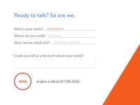 MsV6 Menu Contact Form