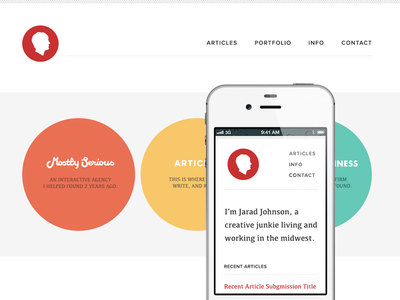 Simplified Personal Site