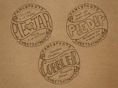 Fancypants Jar Labels