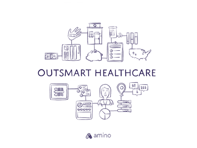 Outsmart Healthcare illustration amino price cost medical healthcare health