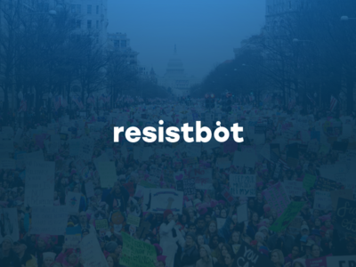 Rebranding Resistbot resistbot robot chatbot resistance resist