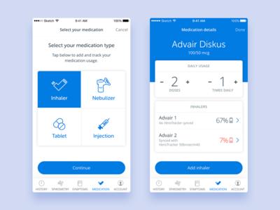 Health app part 2 health app ux ui mobile