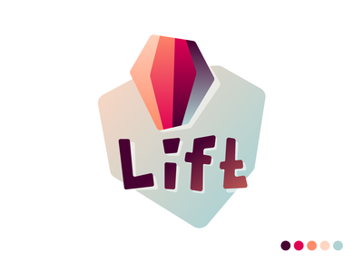 Hot ballon logotype