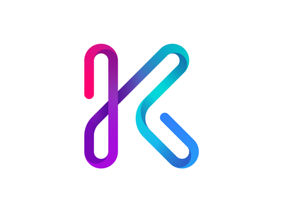 K letter logo logoinspiration logotype k letter concept logo design kfunkydesign dailylogochallenge k-funky karen sardaryan