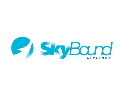 Airline logotype designedwithlove gradientlogo blue dailylogo skybound logotypeclub logoinspire logoinspiration logotype dailylogochallenge logo concept kfunkydesign design k-funky karen sardaryan