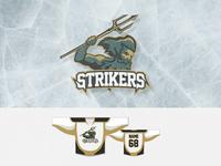 Hockey team logo: Strikers Bratislava