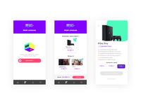 Console Rent Mobile App part one