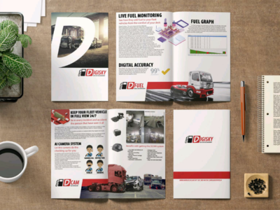 Brochure layout for one of my favorite clients. layout brochure illustrator