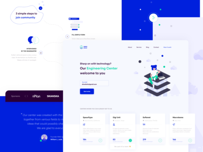 INNO Space Landing Page