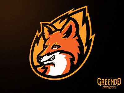 Fox Mascot esport branding esports wild animal vector gaming design illustration mascot logo fox