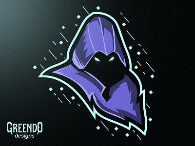 Valorant - Omen esports branding vector gaming design illustration mascot logo riot games omen riot valorant