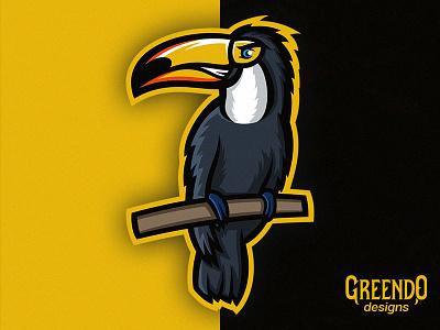 Toucan FREE Mascot Logo animal jungle bird toucan icon esports branding sports vector gaming design illustration mascot logo