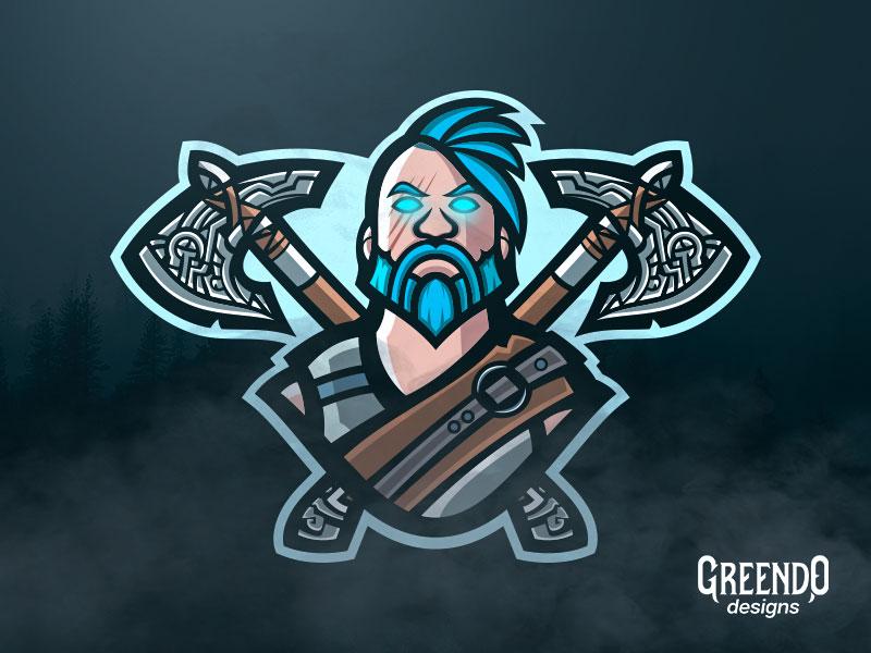 Fortnite Ragnarok Mascot Logo By Daniel Tsankov Dribbble Dribbble