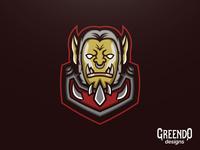 World Of Warcraft Varok Saurfang Mascot Logo Fan Art