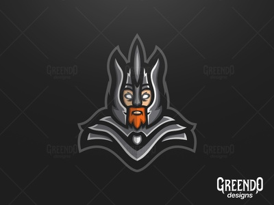 Warrior Mascot Logo [FOR SALE] icon logo type esport esports design sports gaming illustration mascot logo warriors warrior
