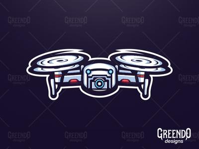 Drone Mascot Logo [FOR SALE]