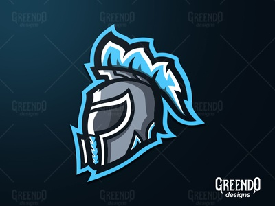Spartan Motor Helmet Mascot Logo [FOR SALE]
