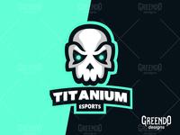 Titanium Skull for SALE