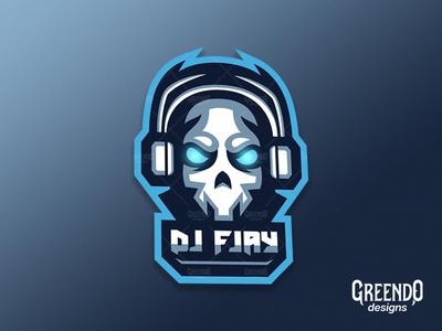 DJ Mascot Logo Made For A Client