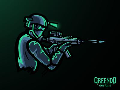 Assassin Mascot Logo [FOR SALE]