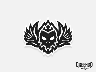 Flying Skull Logo [ FOR SALE ]