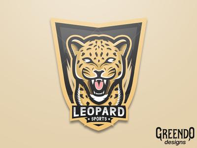 Leopard Mascot Logo [ FOR SALE ]