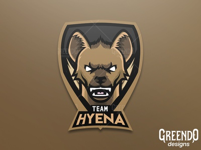 Hyena Mascot Logo [ FOR SALE ]