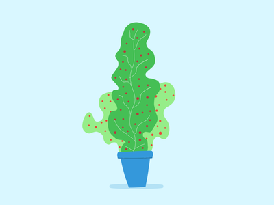 Color Plant 04 vectors vector illustration nature plants plant