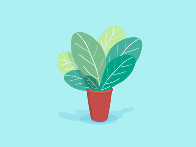 Color Plant 05 vectors vector illustration nature plants plant