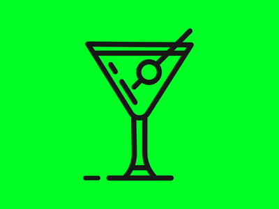 """Martini icon vector minimal line lineart """"icon design icons icon design olive alcohol drink martini"""