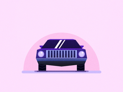 Muscle car illustration vector vectors vehicle muscle car