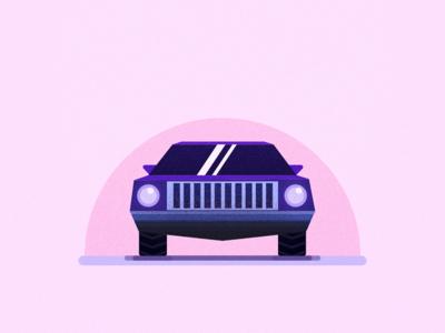 Muscle car illustration vector vectors vehicle muscle car