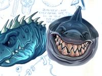 Sketchbook Sharks