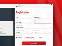 AddVentures – Register Form