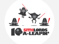 10 (Sith) Lords a-Leapin'