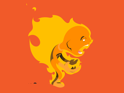 Human Torch, so hot right now. illustration cartoon marvel comics human torch fantastic four johnny storm fire flame on