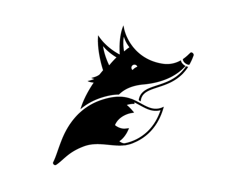 F is for fox dribbble