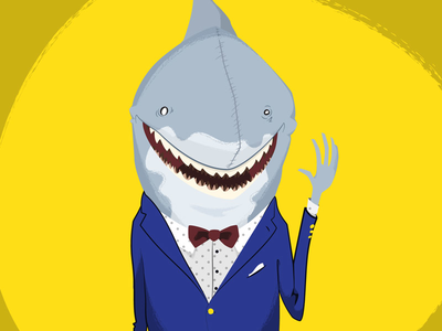 Shark in a Suit