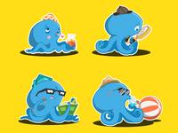 Octopus Sticker Pack