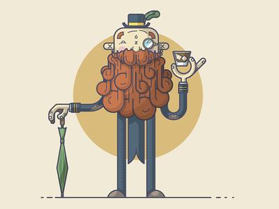 A Very Fancy (Bearded) Gentleman