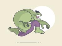 Hulk Run!