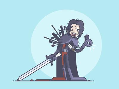 Jon Snow is totally OK... right?