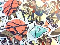 Stranger Stickers!