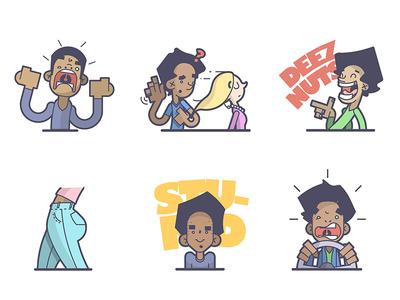 Immature Stickers...