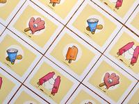 Mini Prints - Popsicle Edition