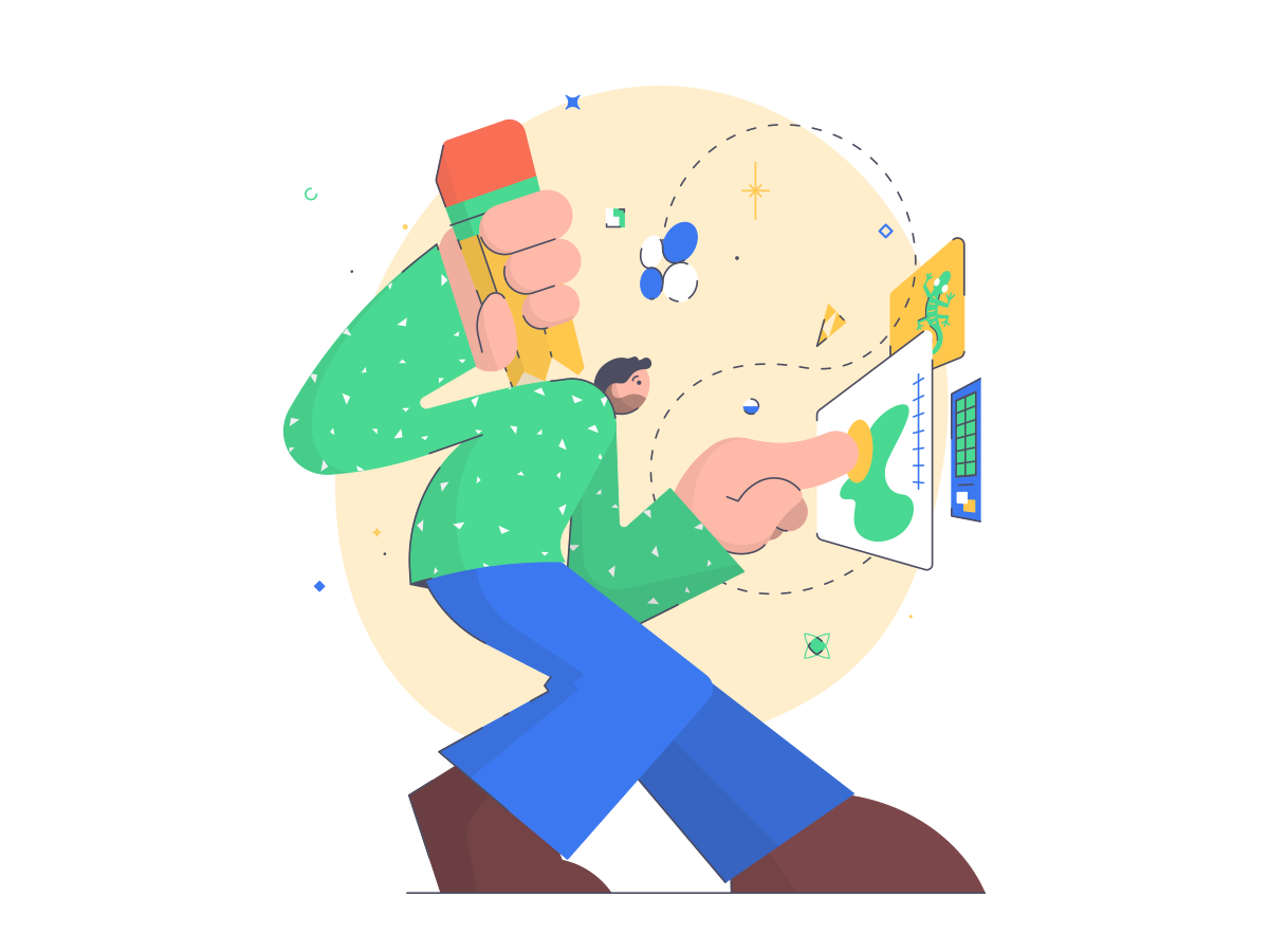 Chris fernandez art brain dribbble