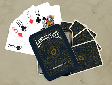 LendingTree Magic Playing Cards