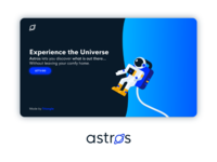 Astros Landing Page