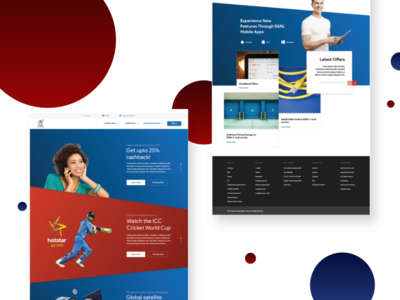 BSNL | Telecom Website Homepage