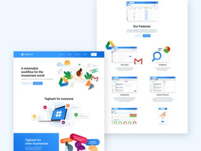 Taghash | Website Design